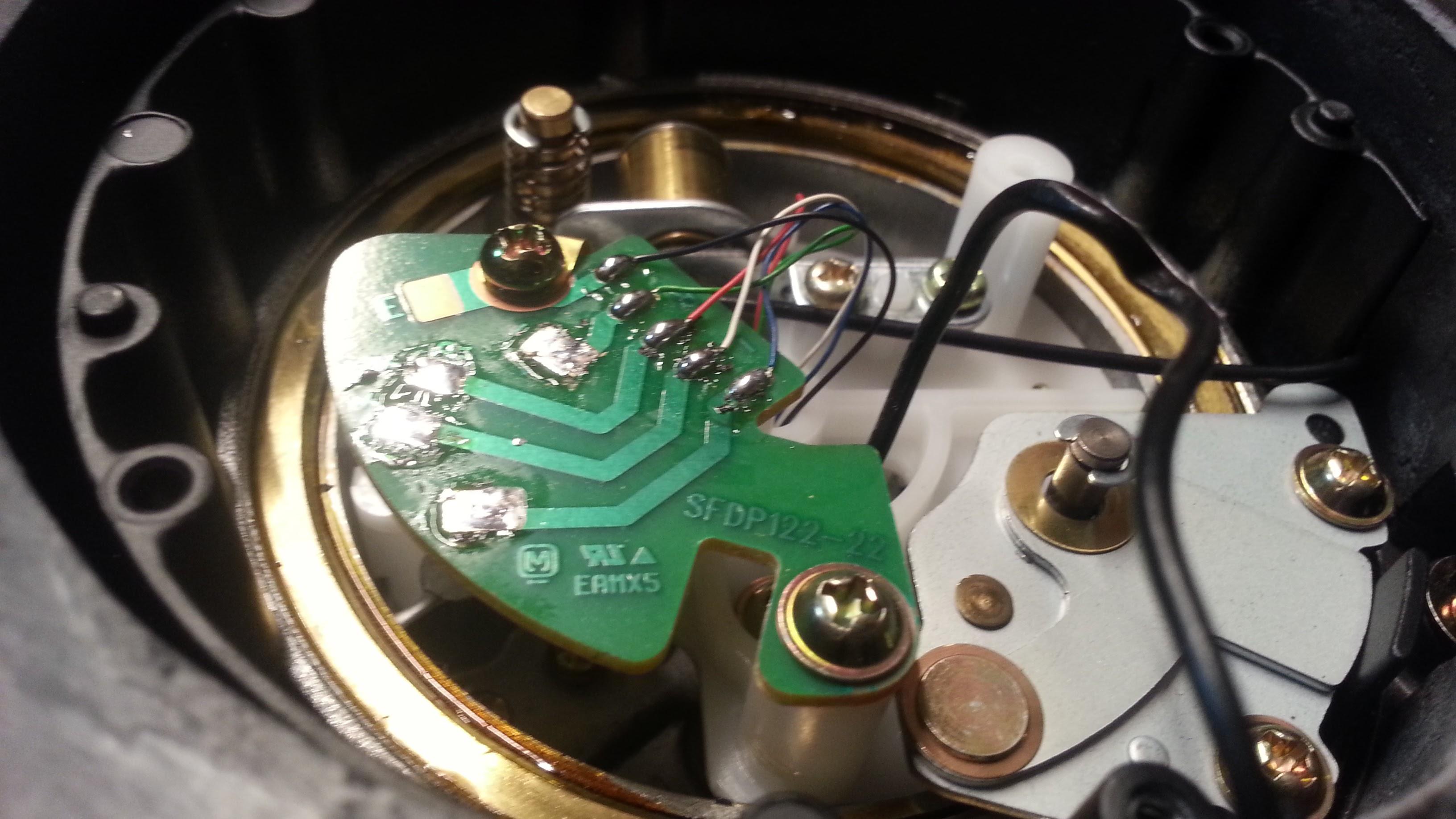 Sustitución cable de audio en Technics | David Santander Franco